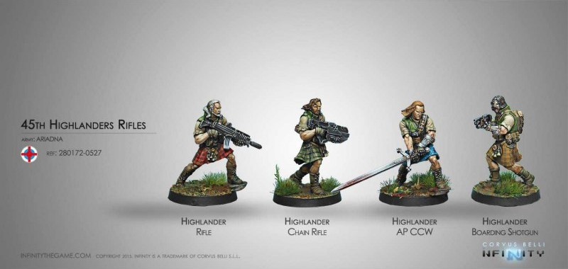 Ariadna - Galwegians 45th Highlander Rifles