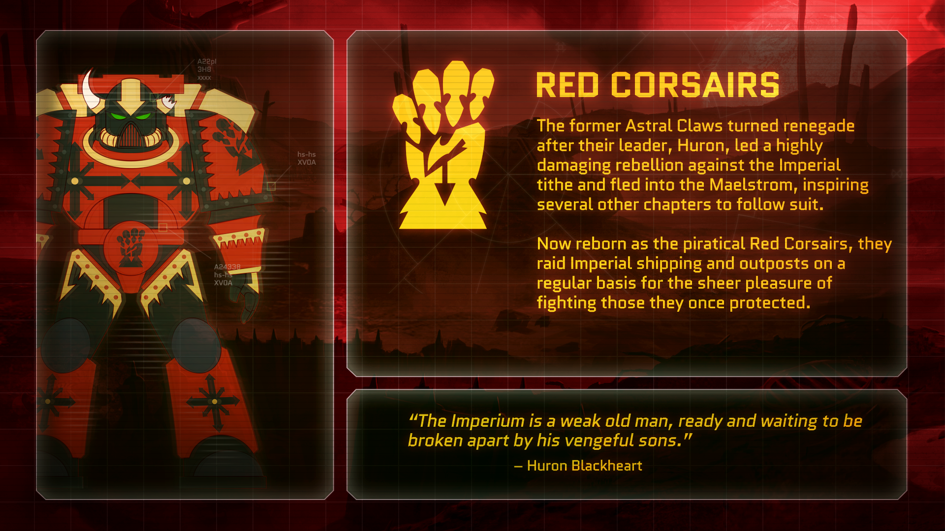 Eternal Crusade - Red Corsairs