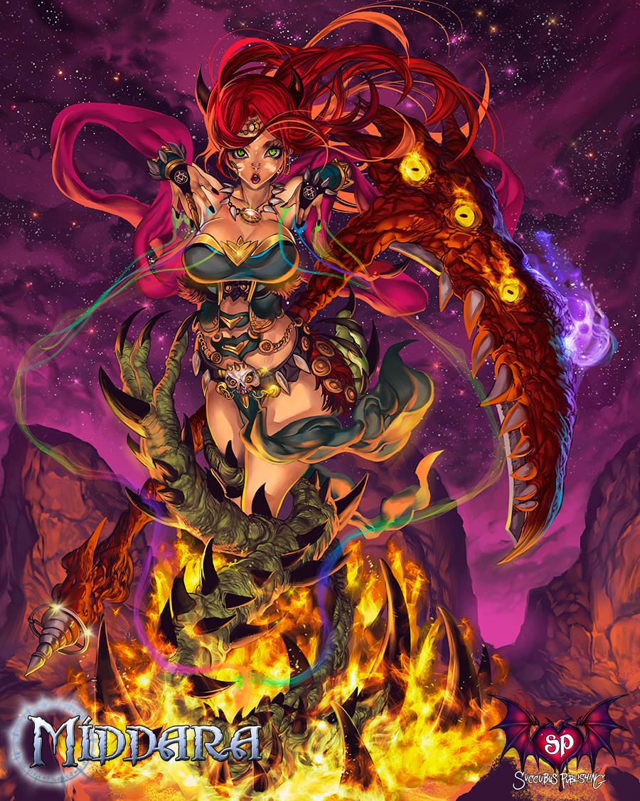 Middara - Devil Summoner Artwork