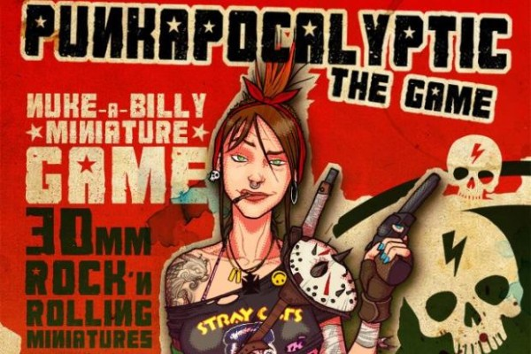 Punkapocalyptic banner for IndieGoGo campaign