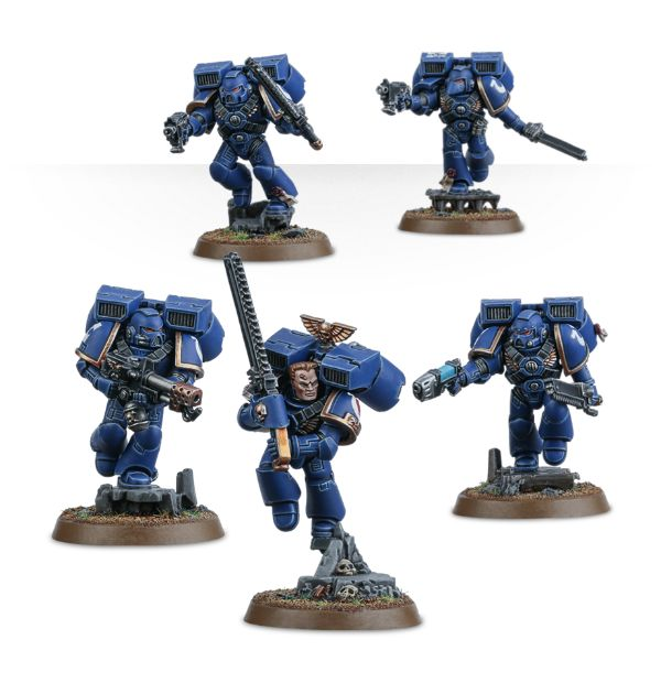 The New Space Marine Assault Squad