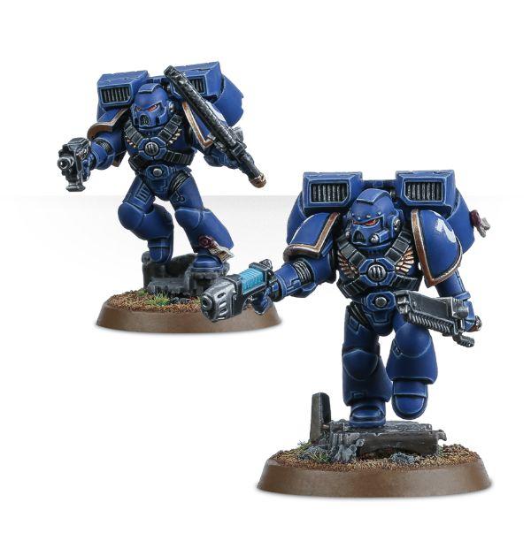 Space Marine Assault Squad Kopf D *BITS*
