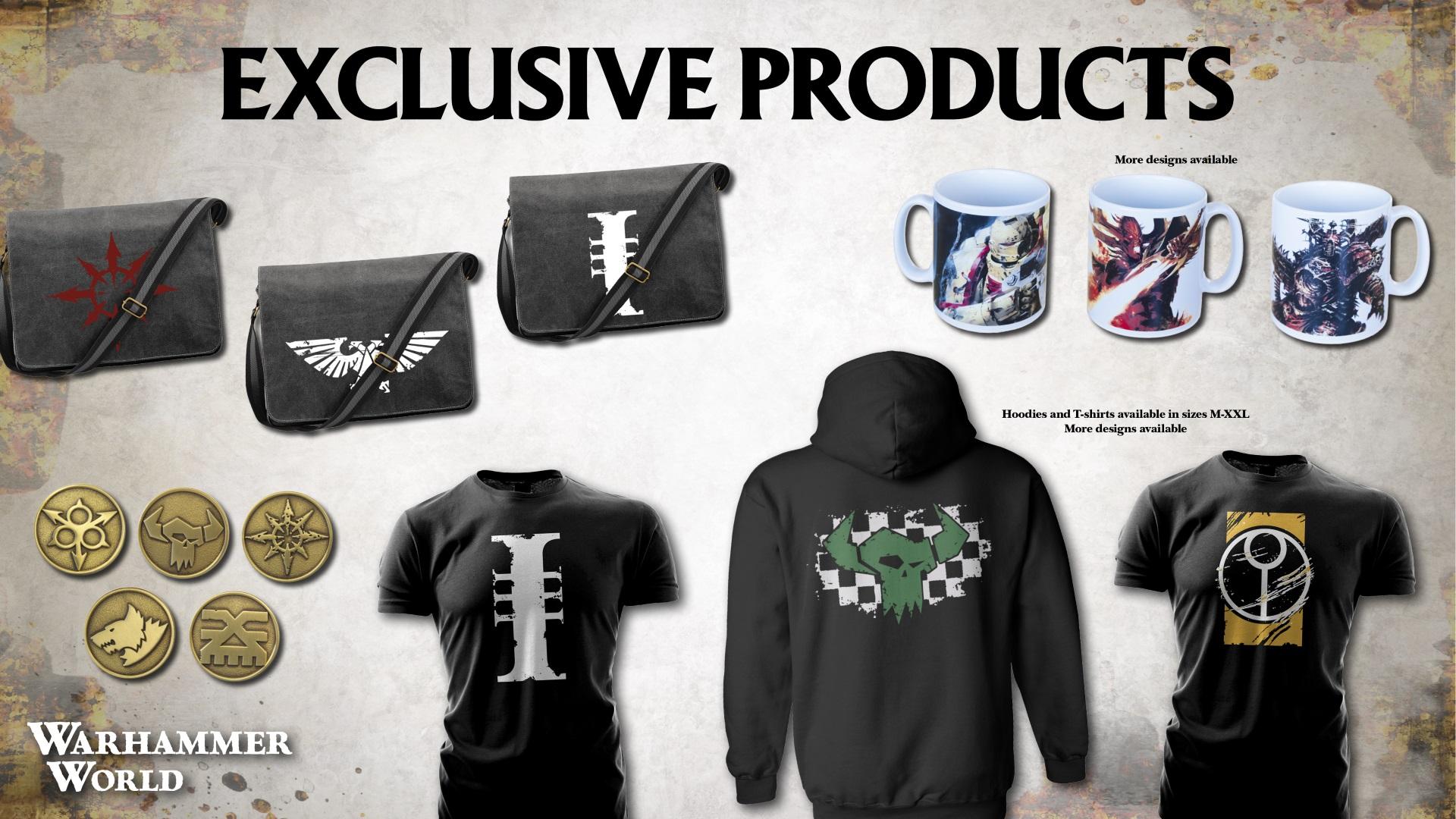 Warhammer World Exclusive Merchandise