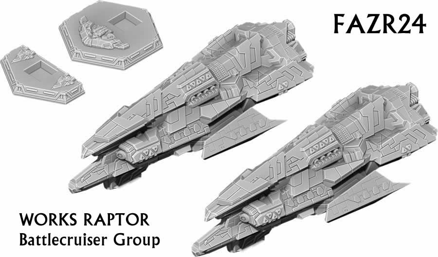 Works Raptor Battlecruiser Group
