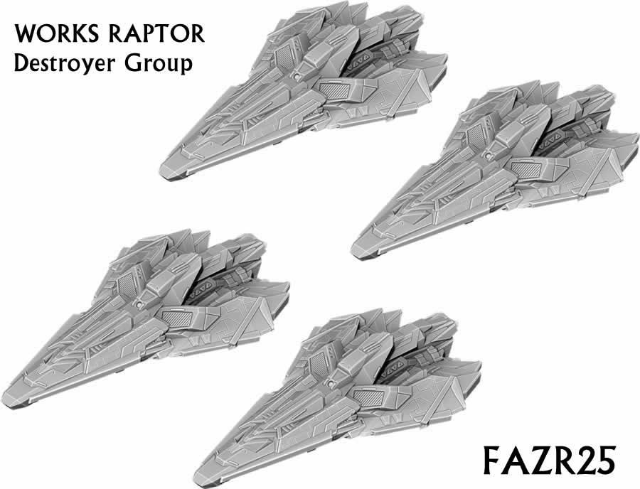 Works Raptor Destroyer Group