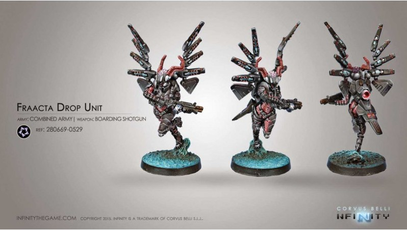 Combined Army - Fraacta Drop Unit with Boarding Shotgun