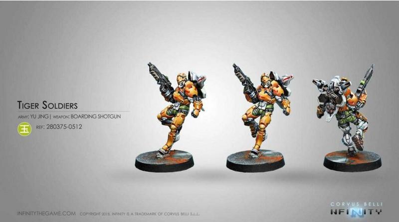 Yu Jing - Tiger Soldier with Boarding Shotgun