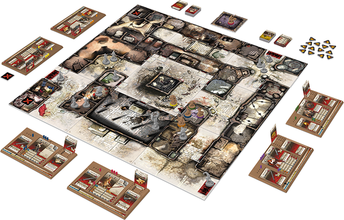 Zombicide Black Plague Game Setup