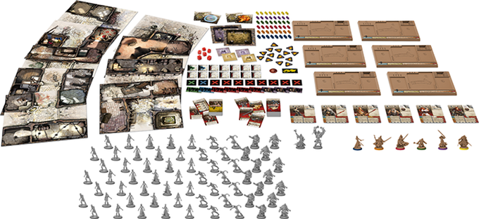 Zombicide Black Plague Game Contents