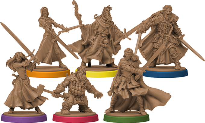 Zombicide Black Plague Heroes
