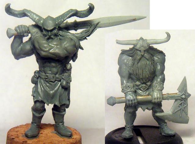 Dravog and Gorvin - Zombicide Black Plague