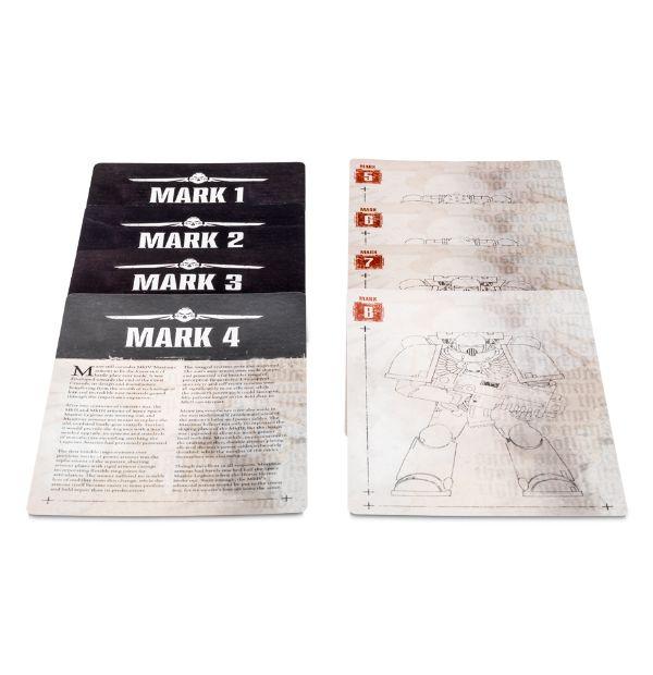 Space Marine Limited Edition Codex Codex Armour Cards