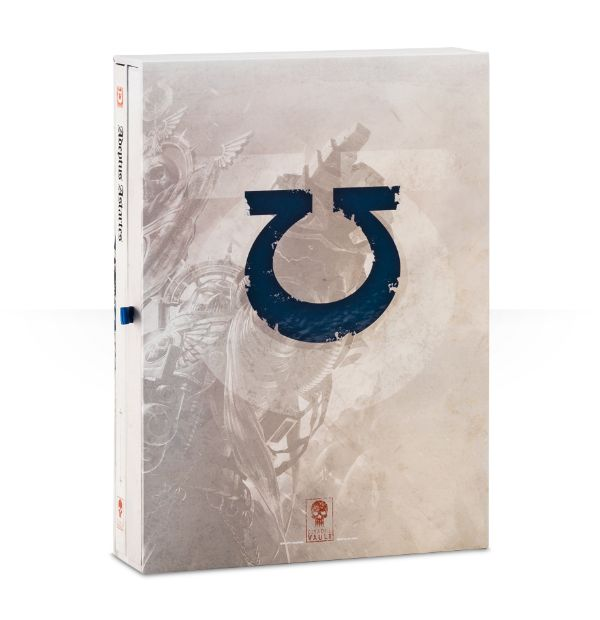 Ultramarines Limited Edition Codex Back Cover