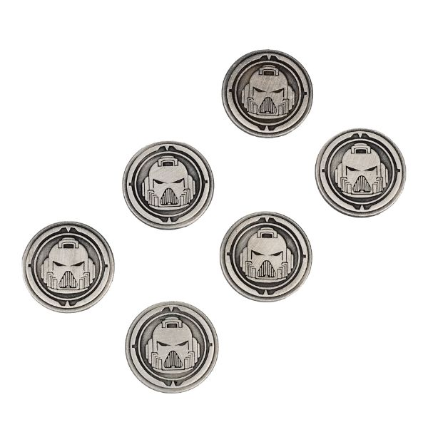 Space Marine Limited Edition Codex Objective Markers