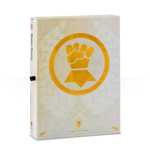 Imperial Fists Limited Edition Codex Back Cover