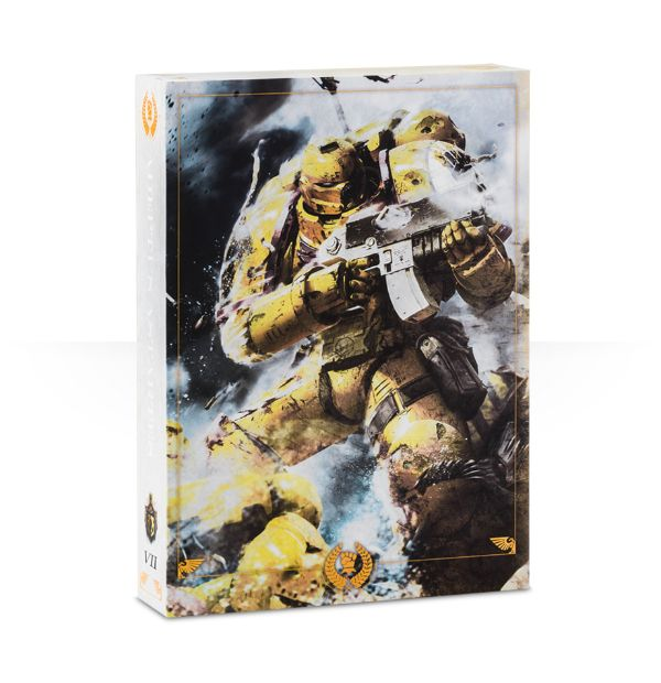 Imperial Fists Limited Edition Codex Cover