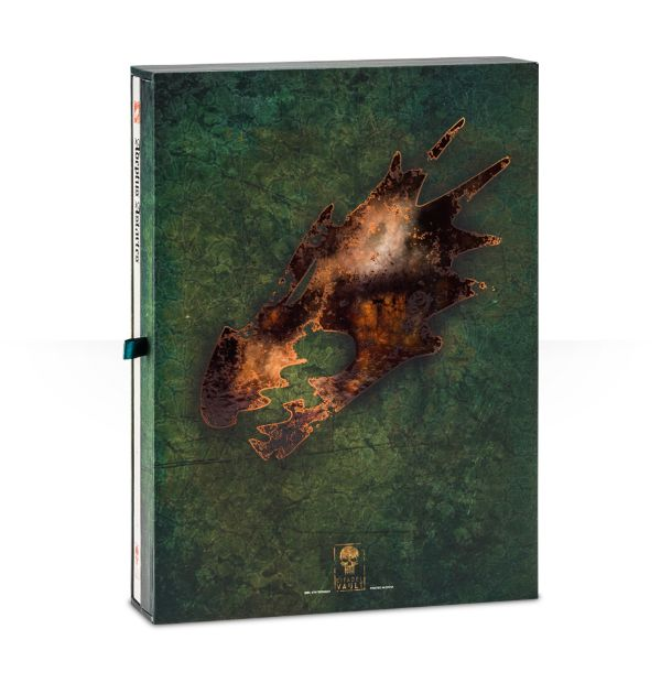 Salamanders Limited Edition Codex Back Cover