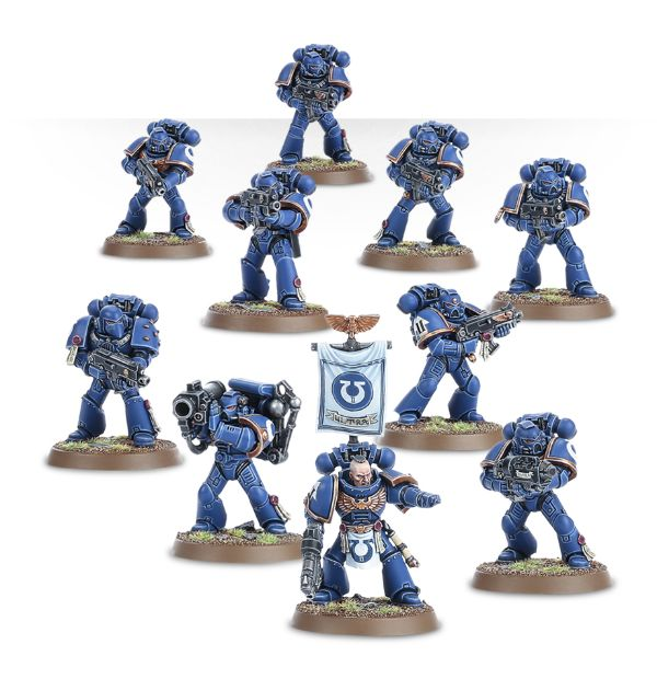 Space MarineTactical Squad