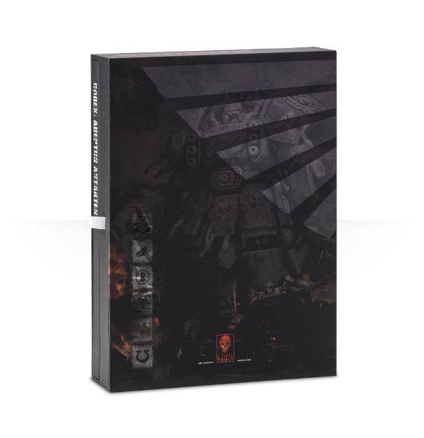 Adeptus Astartes Successors Limited Edition Codex Back Cover
