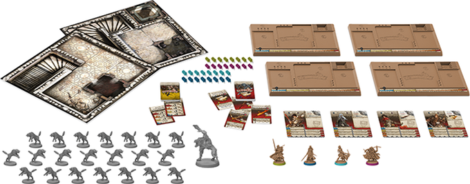 Zombicide Wulfsburg Game Contents