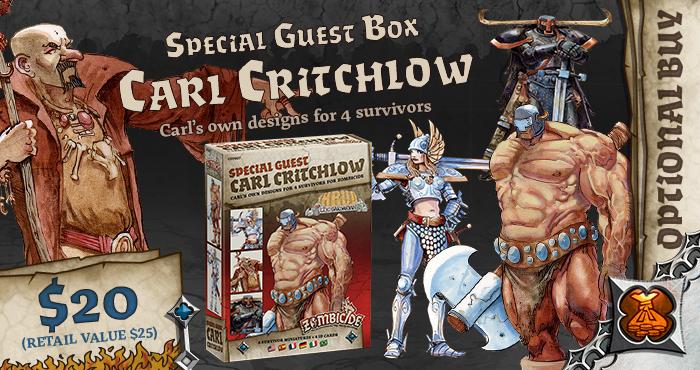 Carl Critchlow Special Guest Box - Zombicide Black Plague