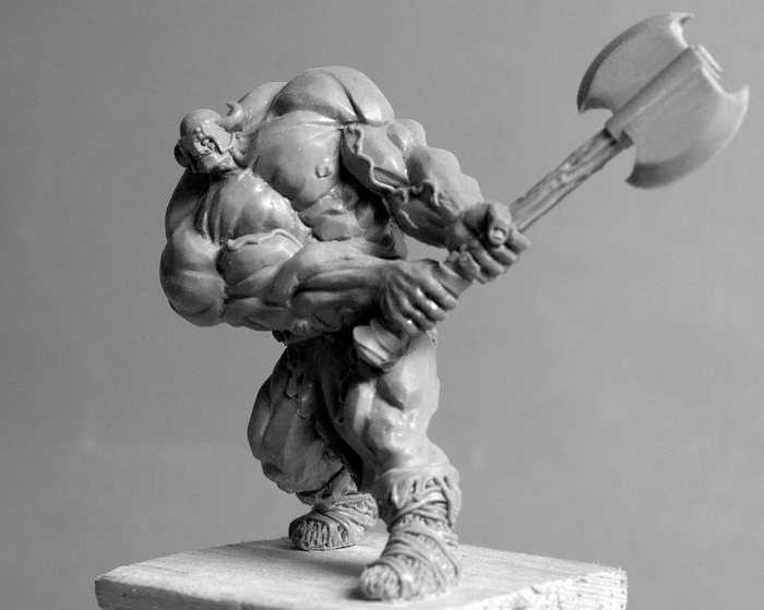 Thud The Barbarian - Zombicide Black Plague