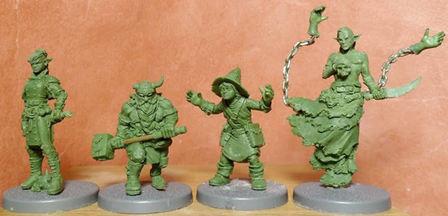 Naiade Sculpts for Zombicide Black Plague