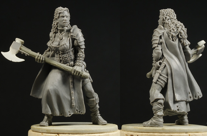 Miss Ysabel - Zombicide Black Plague