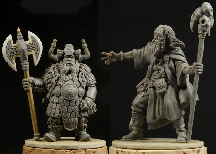 Ulfo & Marcus The Mighty - Zombicide Black Plague