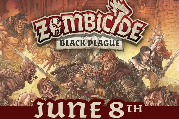 Zombicide Black Plague Launch Poster