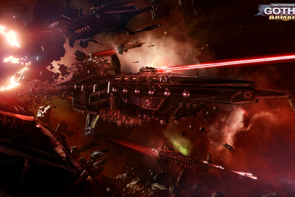 Battlefleet Gothic Armada Chaos Fleet