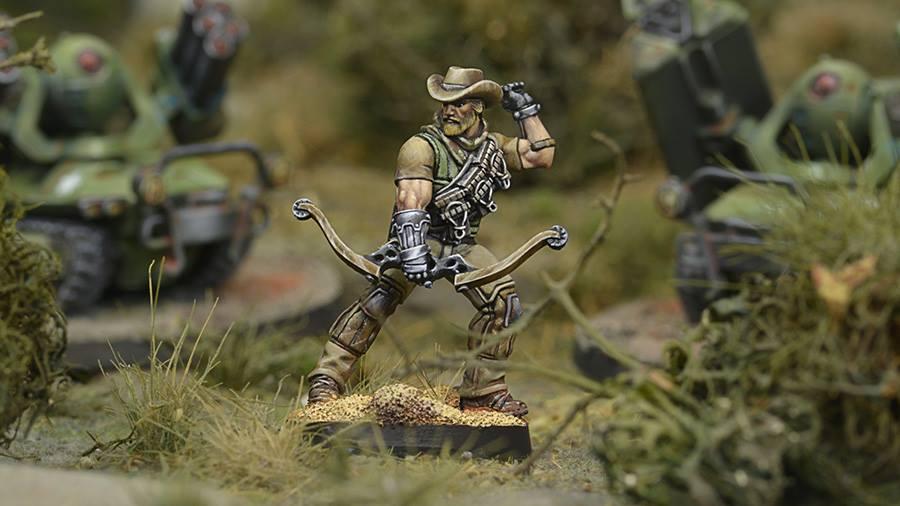Hardcases, 2ND Irregular Frontiersmen Battalion In Scenery - Infinity
