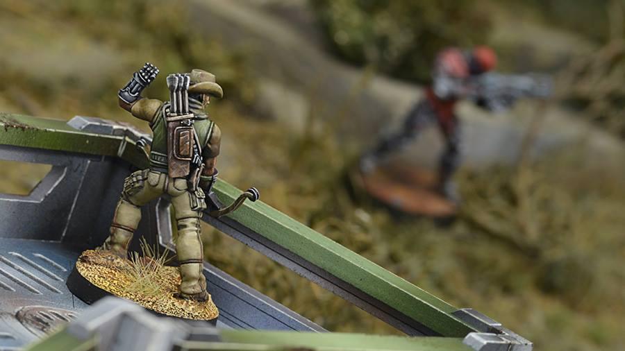 Hardcases, 2ND Irregular Frontiersmen Battalion rear View - Infinity