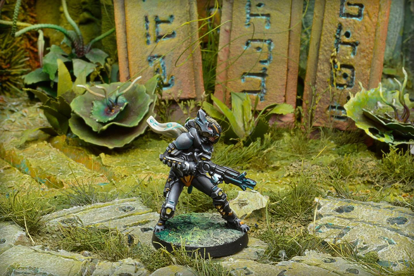 Igao Unit In Jungle Scenery - Infinity