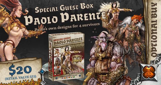 Paolo Parente Special Guest Box