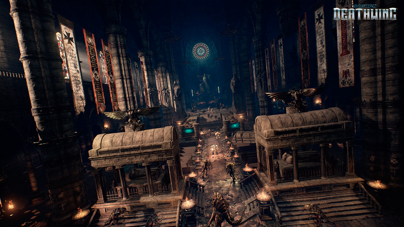 Space Hulk Deathwing Environments 1
