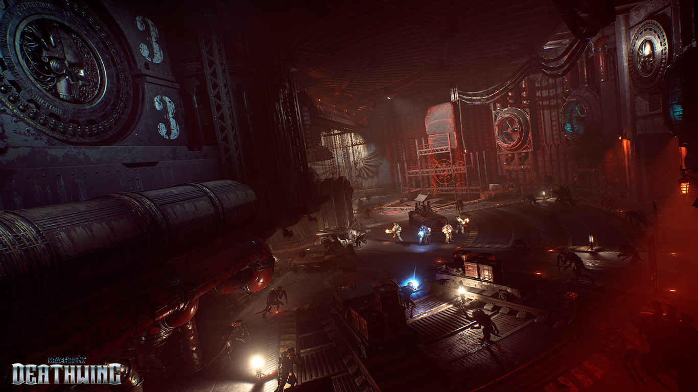 Space Hulk Deathwing Environments 2