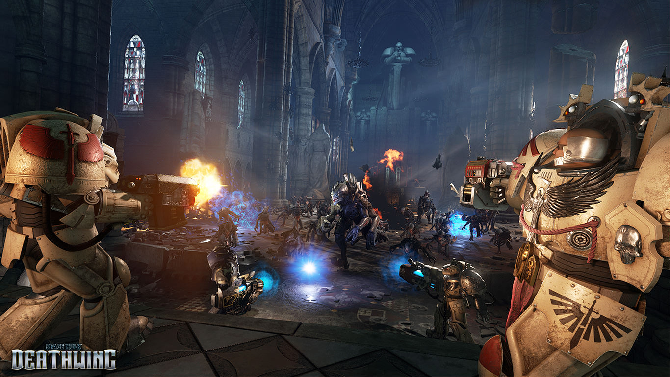 Space Hulk Deathwing - In-game Battle Screenshot