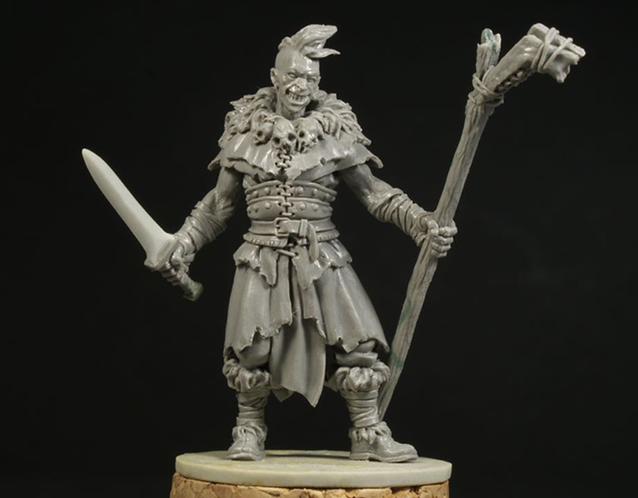 Grinn - Zombicide Black Plague