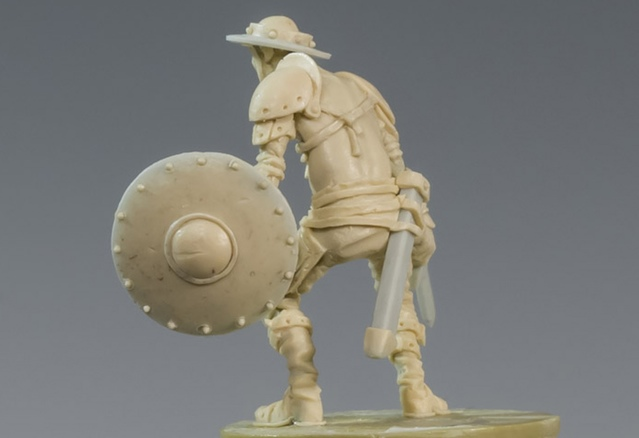 Little Prince Rear View - Zombicide Black Plague