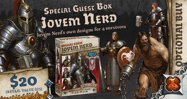 Jvem Nerds Special Guest Box - Zombicide Black Plague