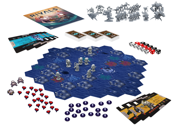 Game Contents - Rivals Masters of the Deep