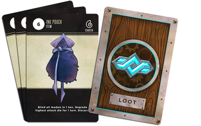 Loot Cards - Rivals Masters of the Deep