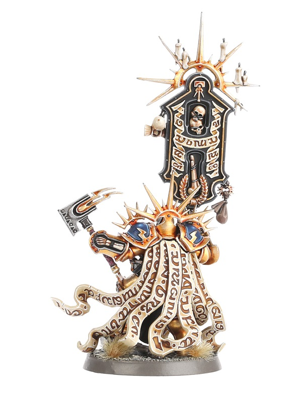 Lord Relictor, Ionus Cryptborn Rear View - Age of Sigmar