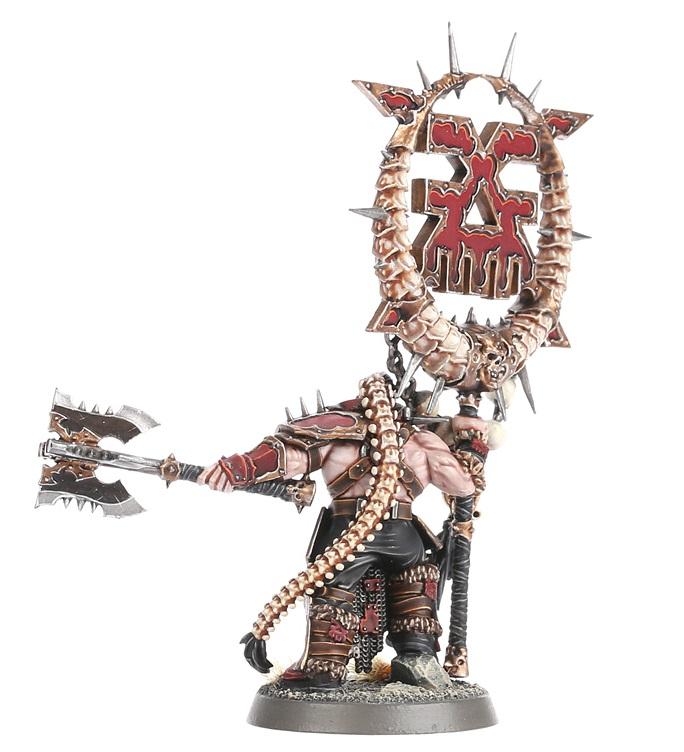 Bloodsecrator, Threx Skullbrand Rear View - Age of Sigmar