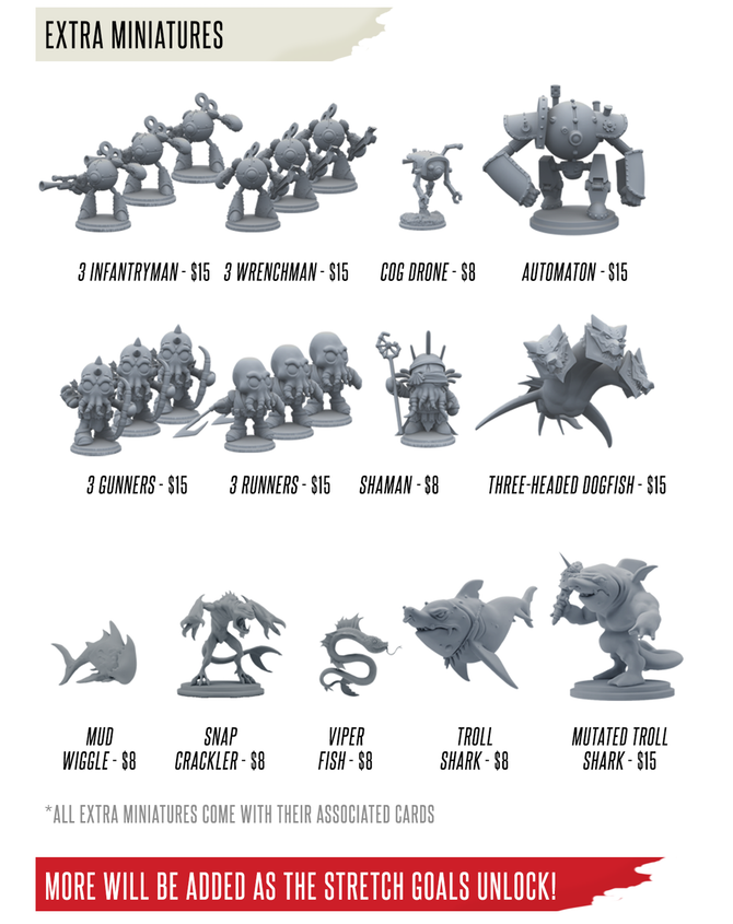 Miniatures - Rivals Masters of the Deep