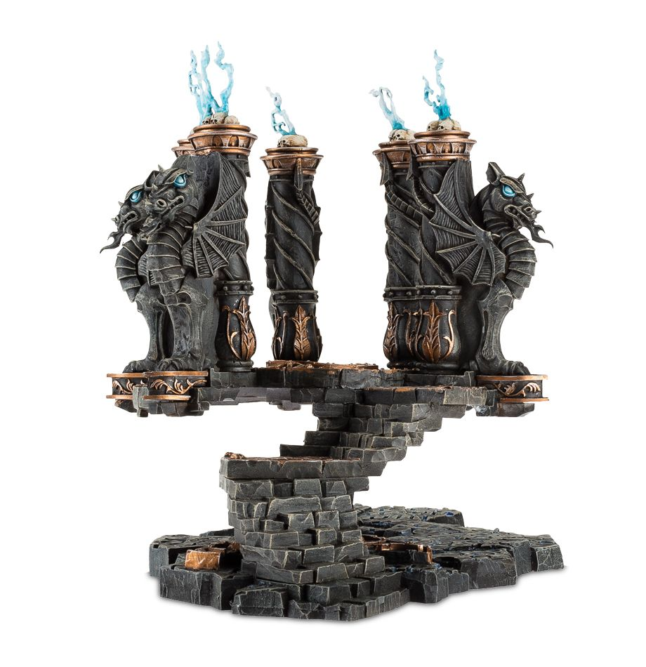 Dragonfate dais and numinous occulum released tabletop for Decor 40k
