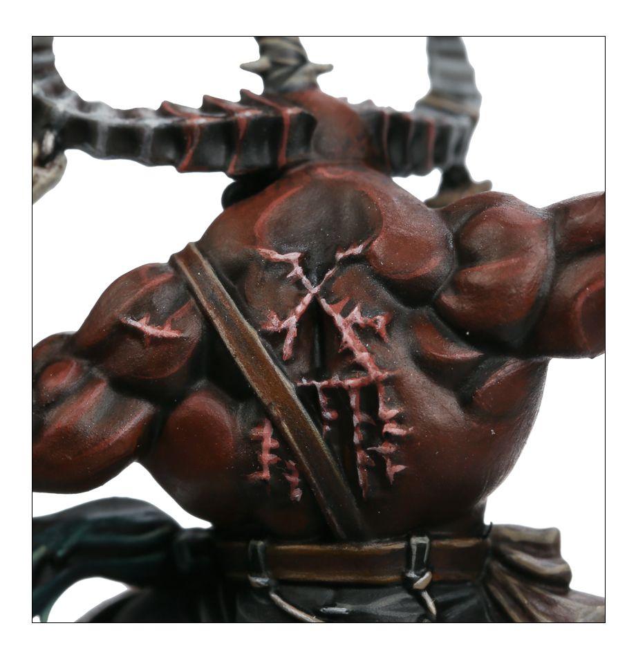 Khorne Exalted Deathbringer - Back Marking