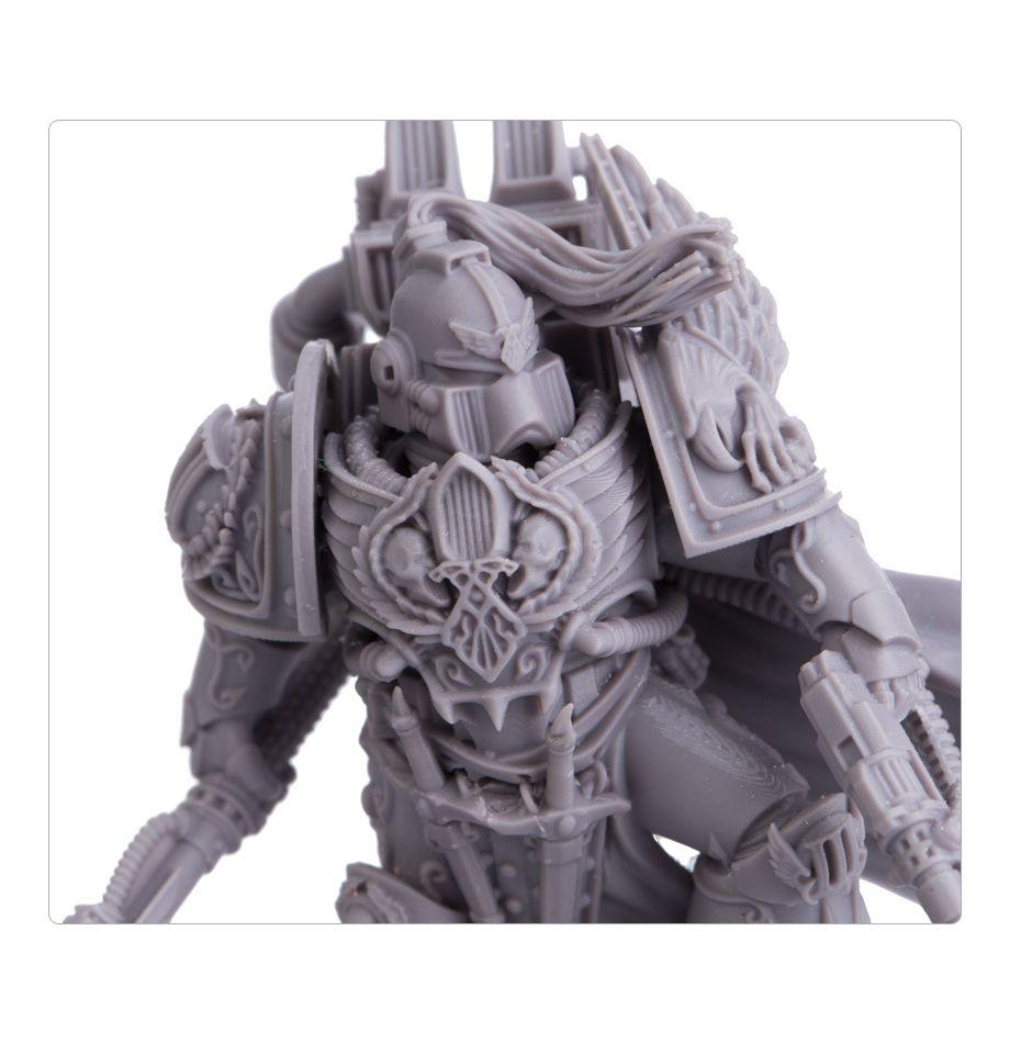 Lord Commander Eidolon - Alternate Head Option Close-up