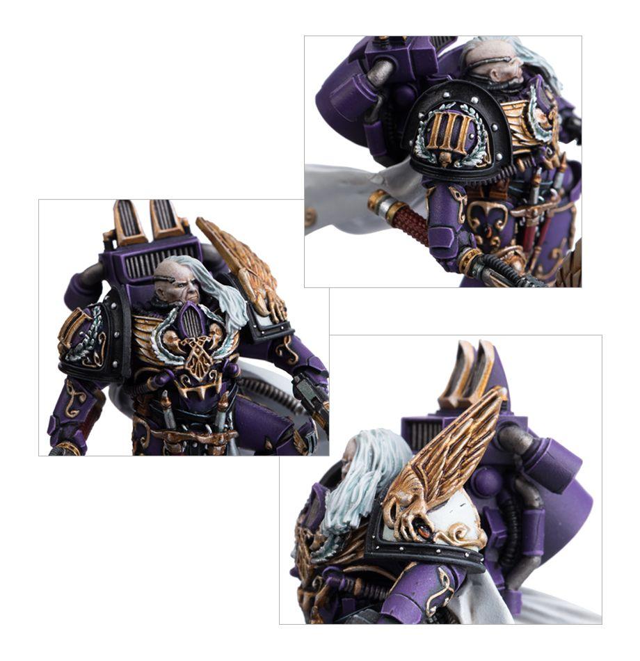 Lord Commander Eidolon - Face and Shoulder Details